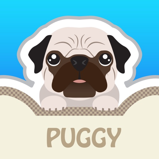 Puggy - Pug emoji & widget