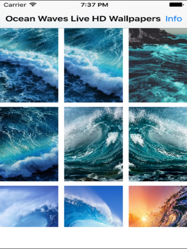 Ocean Waves Live HD Wallpapers On The App Store