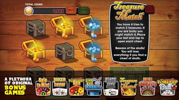 PowerUp Slots™ - Free PowerUp Slot Machine screenshot-3