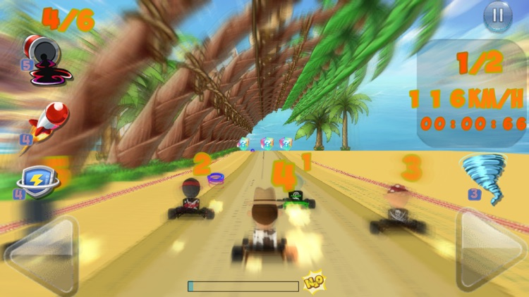 CrazyKart-GO screenshot-4