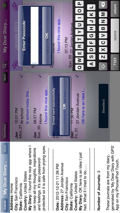 My Dear Diary with GPS screenshot-3