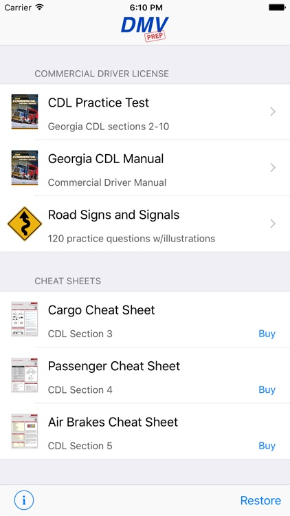 Georgia CDL Test Prep screenshot-0