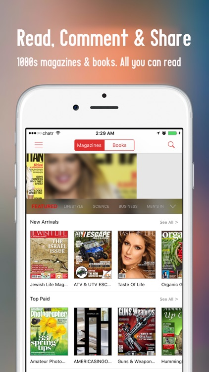 eMag+ Digital Magazine Newsstand, All You Can Read
