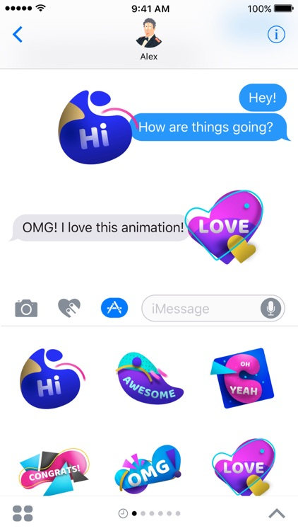 OMG Animated Stickers screenshot-3