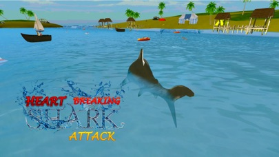 Crazy Shark Attack 3D - A hungry shark simulator-1