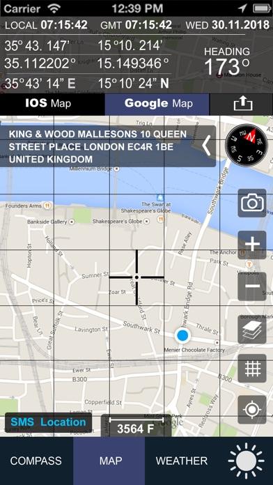 Compass GPS(Map, Weather) Screenshots