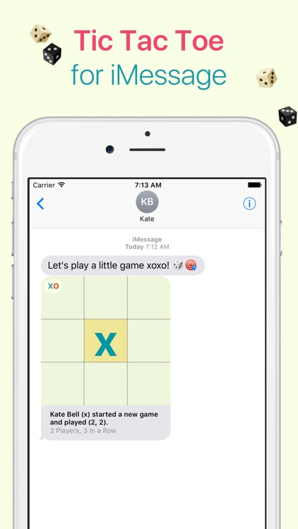 xoxo - Tic Tac Toe for iMessage