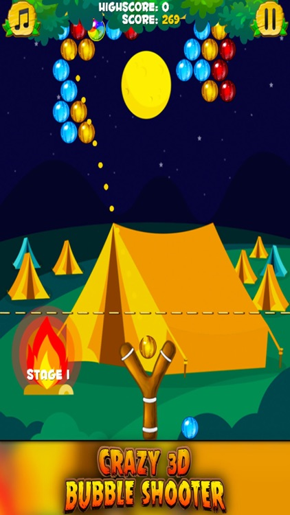 Crazy 3D Bubble Shooter