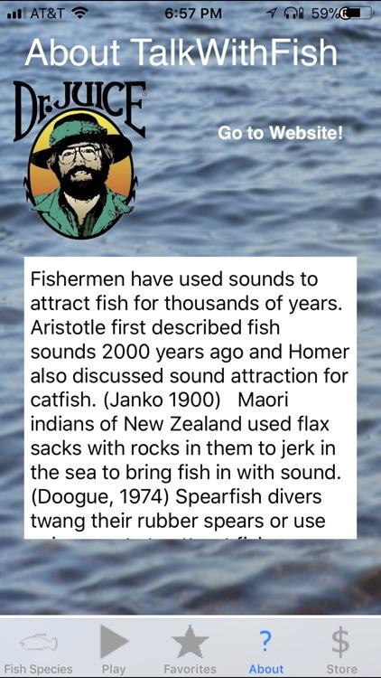 Talk With Fish