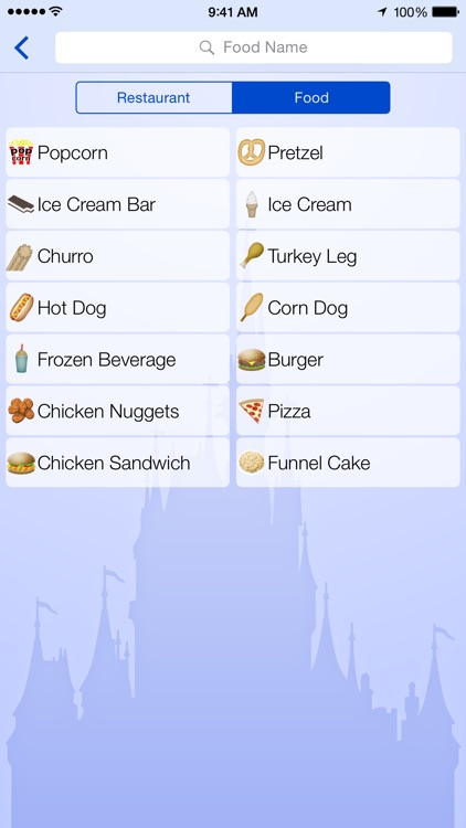 Dining for Disney World screenshot-4