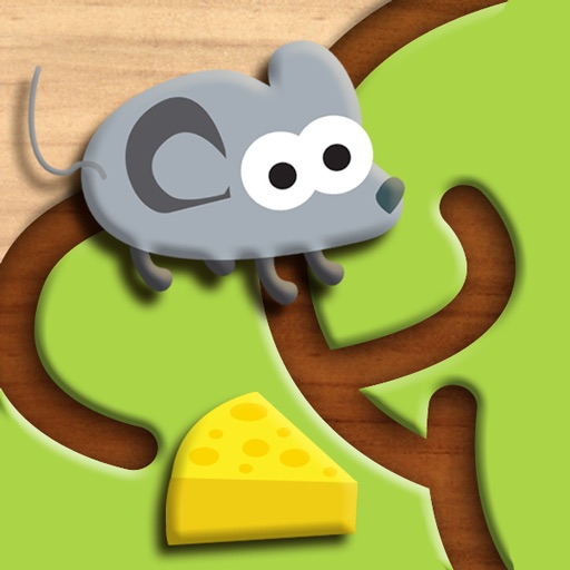 Wood Puzzle Maze HD icon