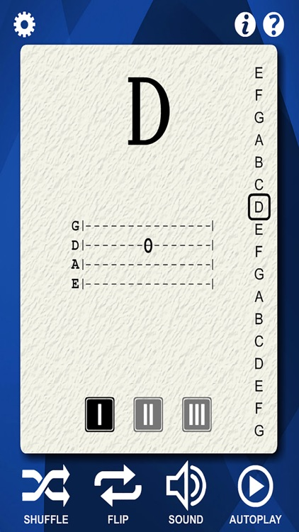 Bass Guitar Flash Cards