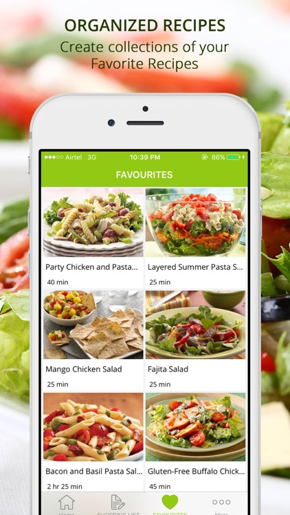 Premium Salad Recipes - cook and learn guide screenshot-3