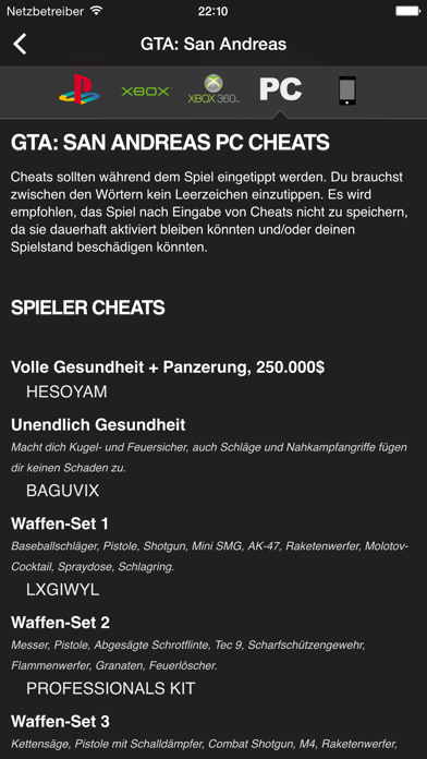 messages.download Cheats for GTA - für alle Grand Theft Auto Spiele software