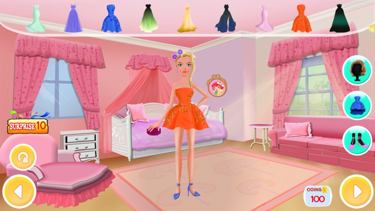 Princess Fashion Salon 2 - Makeup, Dressup, Spa
