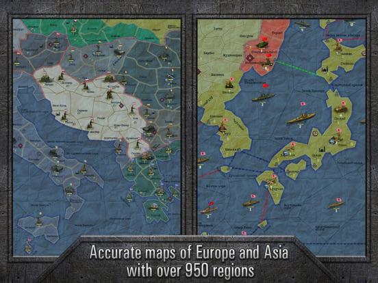 Screenshot #2 for Strategy & Tactics: Sandbox World War II TBS
