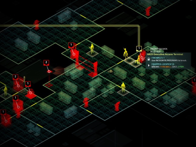 Invisible, Inc. Screenshot