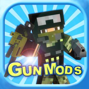 Block Gun Mod Pro - Best 3D Guns Mods Guides for Minecraft PC Edition app