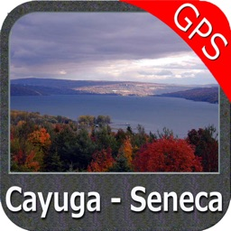 Cayuga - Seneca Lakes New York GPS fishing map