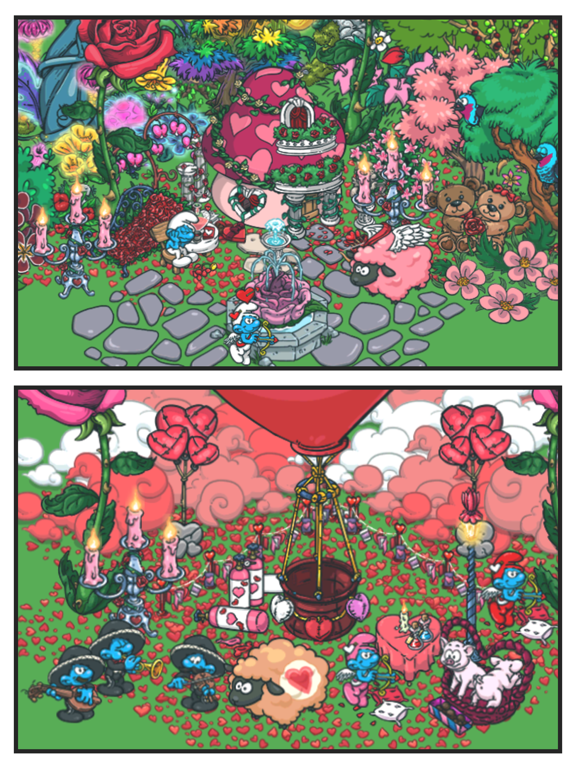 Smurfs' Village Скриншоты10