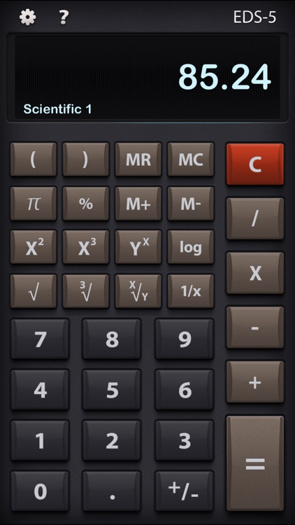EDS-5 Multifunction Calculator