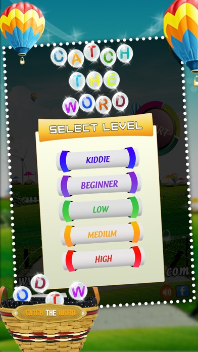 Catch The Word - Learn to Spell Fun Spelling Kids Game screenshot four