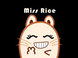 Miss Rice Stickers pack is a fun collection of 15 animated stickers for expressing yourself with your friends~