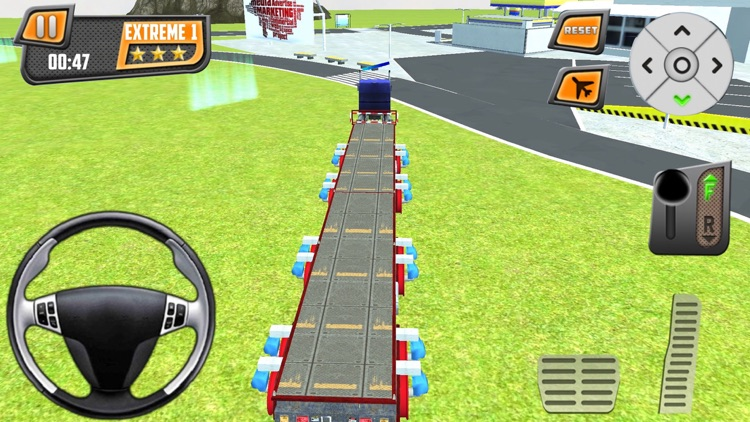 Realistic 3D Monster Truck Park Free Racing Game screenshot-4