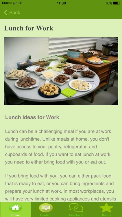Healthy Lunch Ideas screenshot-4