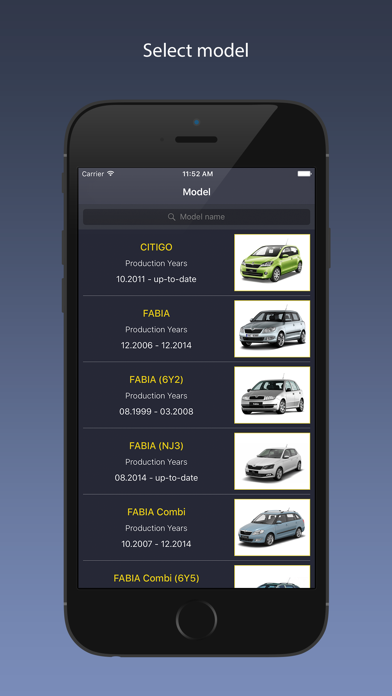 TechApp for Skoda Screenshot