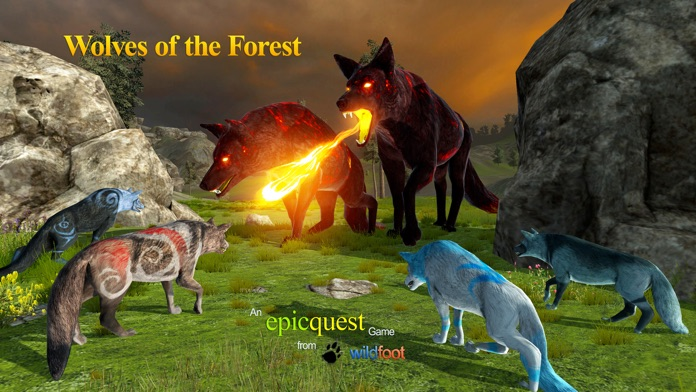 Wolves of the Forest Screenshot