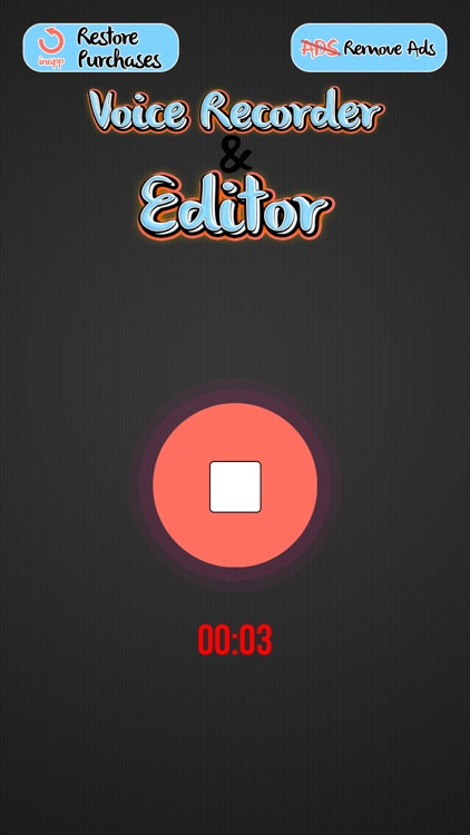 Voice Recorder and Editor – Best Voice Changer and Ringtone Maker with Cool Sound Effects screenshot-4