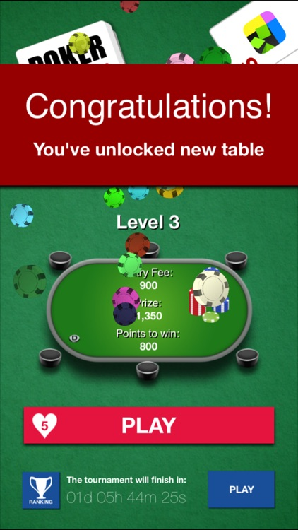 Poker Solitaire: the best card game to play screenshot-3