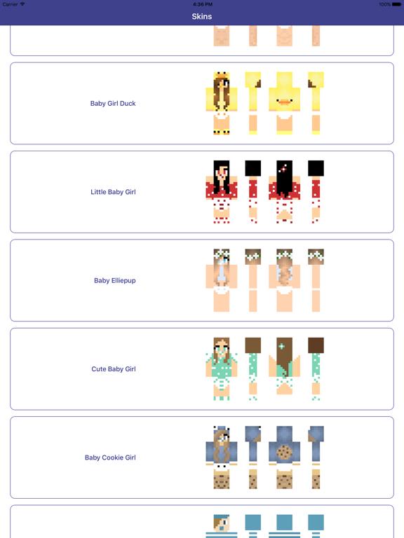 Baby Skins for Minecraft PE - Boy & Girl Skinseedのおすすめ画像4