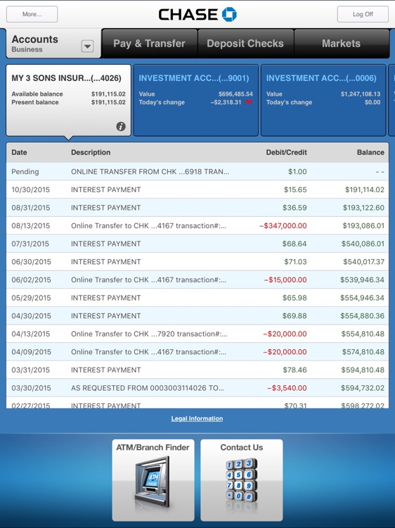 Chase Mobile screenshot-1