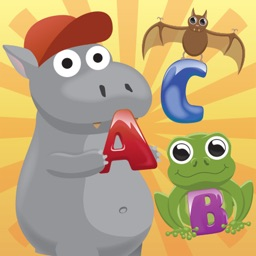 ABC play with me -  alphabet learning for kids with animations and fun mini games