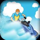 traffico di barche - estrema incidente e panico su acqua blu oceano icon