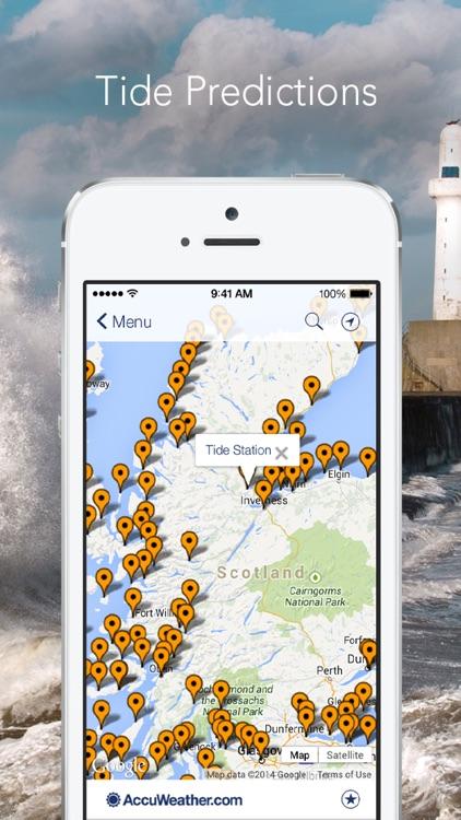 Marine Weather Plus by AccuWeather: UK Edition screenshot-4