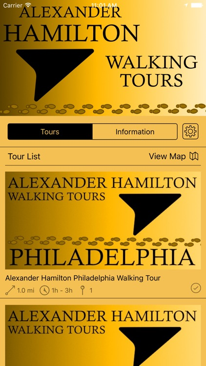 Alexander Hamilton Walking Tours