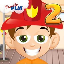 Fireman Grade 2 Kids Educational Games School Edition