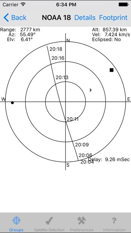Satellite Tracker Plus3