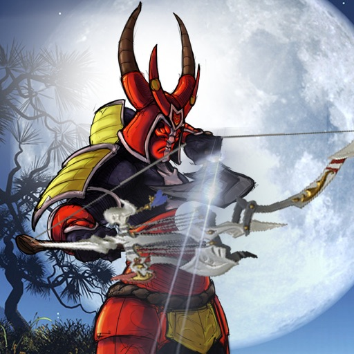 Arrow Red Samurai - Archery Ambush Addicting Shooting Game