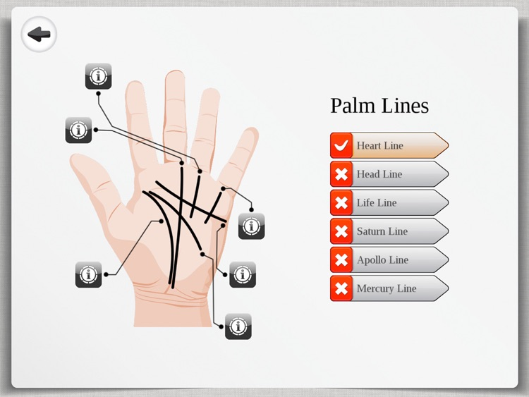 Palm Reading Premium HD - palmistry & chirology screenshot-1