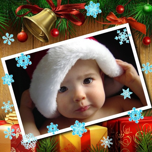 Lovely Christmas Frames Pro icon