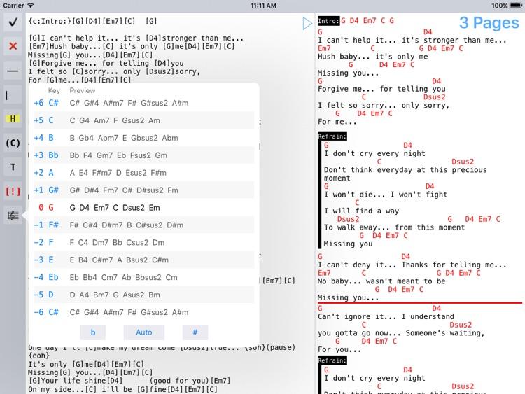 Music Binder (PDF & ChordPro) screenshot-4
