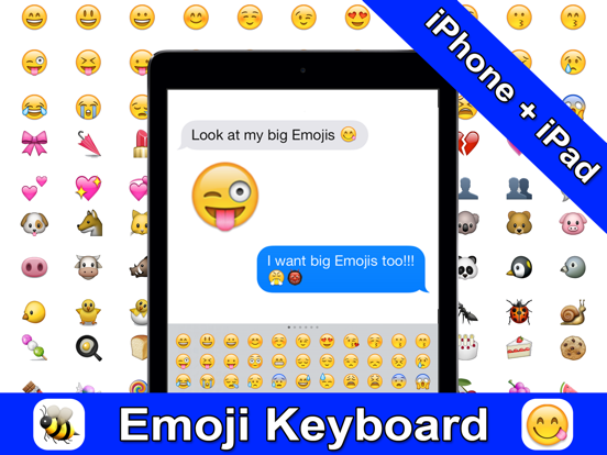 Emoji 3 PRO - Color Messages - New Emojis Emojis Sticker for SMS, Facebook, Twitter ipad ekran görüntüleri