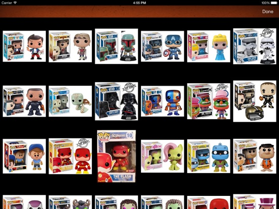 Vinyl Figure Toy Collector Manager - iPad version screenshot three