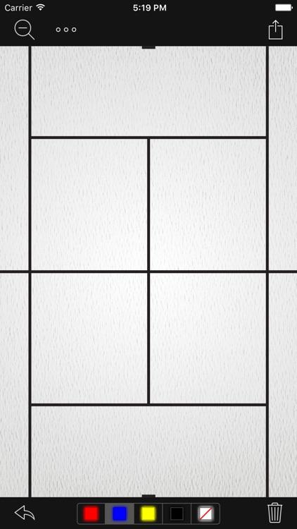 InfiniteTennis Whiteboard
