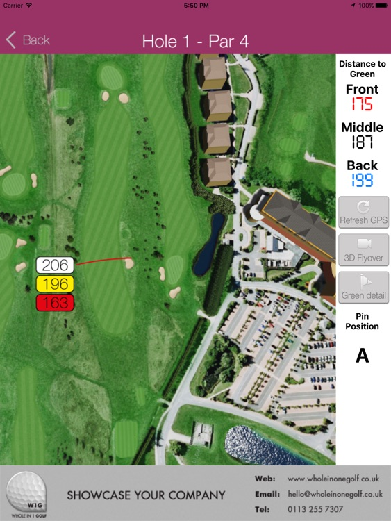Five Lakes Golf Course - Buggy