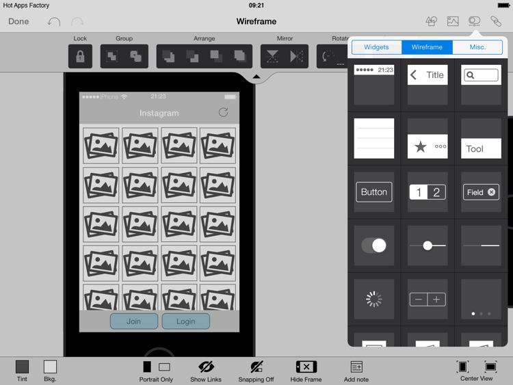 AppCooker - Prototyping & Mockup Studio for iOS screenshot-4